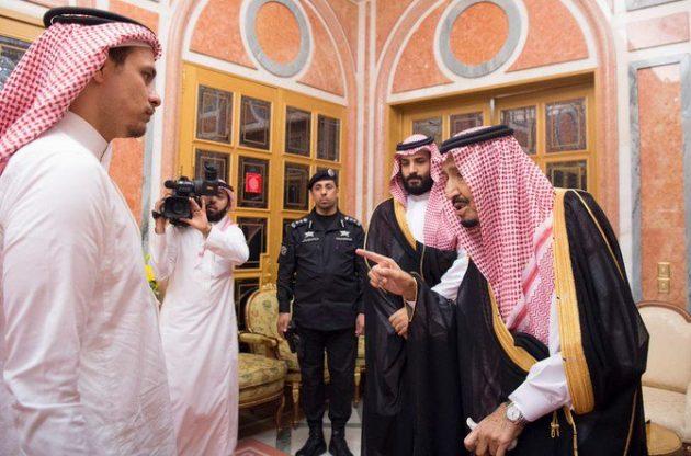 Raja-Salman-Bertemu-Keluarga-Jamal-Khashoggi-di-Istana